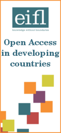 EIFL Open Access in developing countries advert